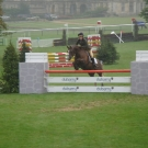 Megan Roberts and Antonia Woodbine at Burghley Horse Trials
