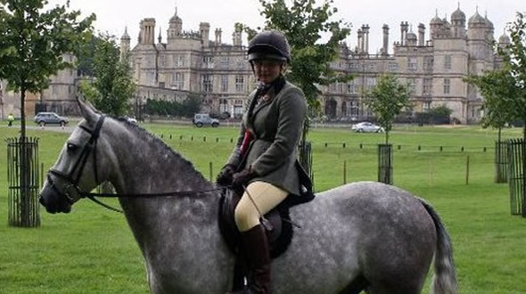 Mini Burghley Event Pony Competition