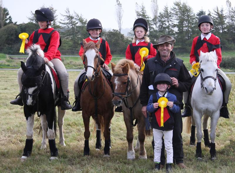 Irish Mounted Games 2010 International Club Friendly