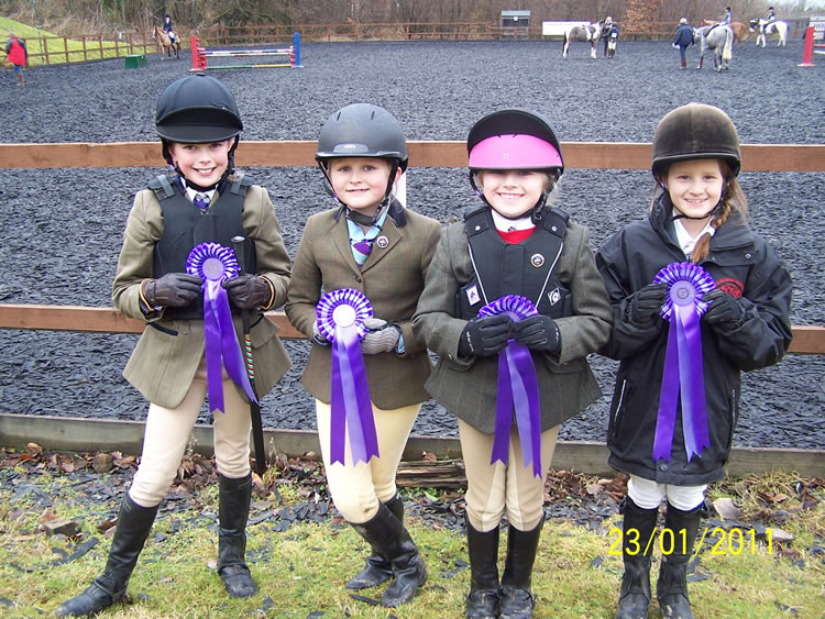 Burton Cheshire Forest Winter League Show Jumping