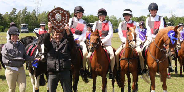 Flint and Denbigh Aces at Area Mounted Games 2011