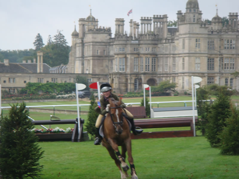 Burghley Horse Trials Pony Competition