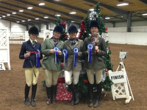 Winning Open Team, Georgia Cabb, Mari Edwards, Sophie Toogood and Brier Leahy