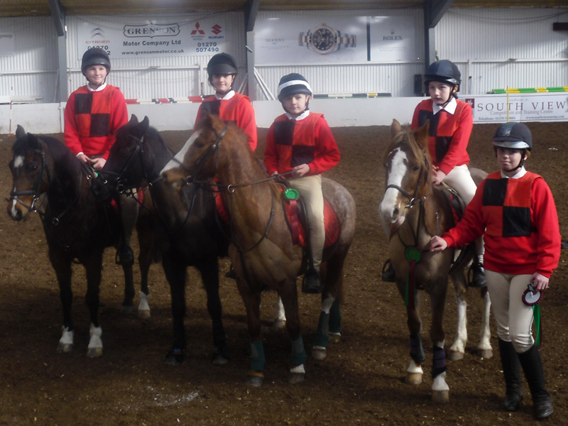 Mounted Games, CHN Friendly, Southview, 17th February