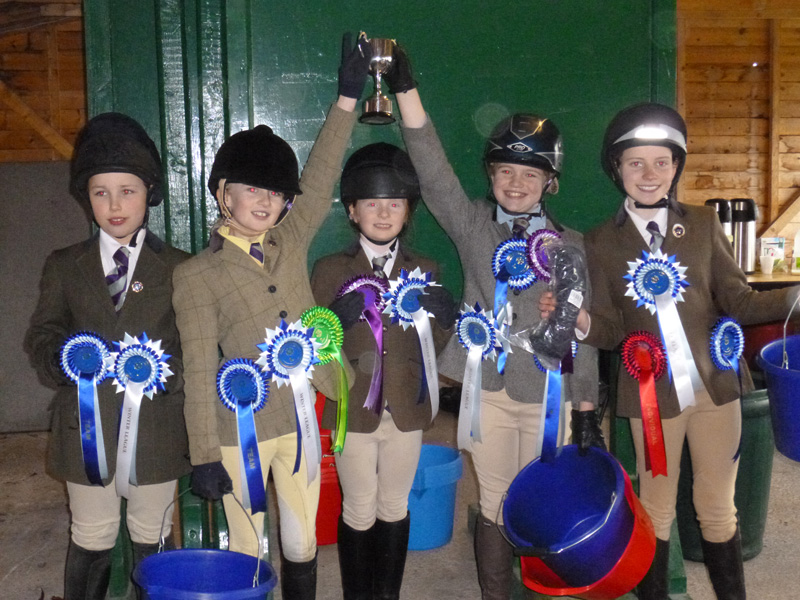 Winter League Champions … Somerford March 09th 2013