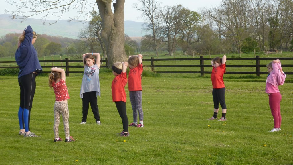 Tetrathlon Running Training – 16th April