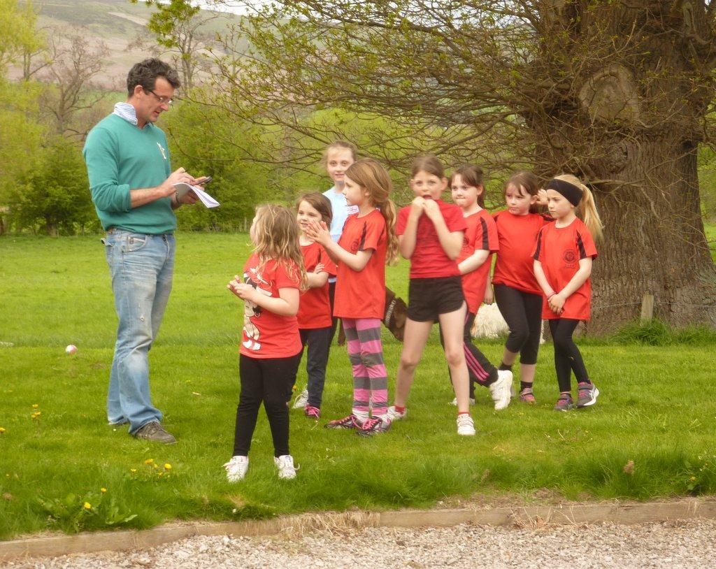 Tet running training at Lleweni Hall