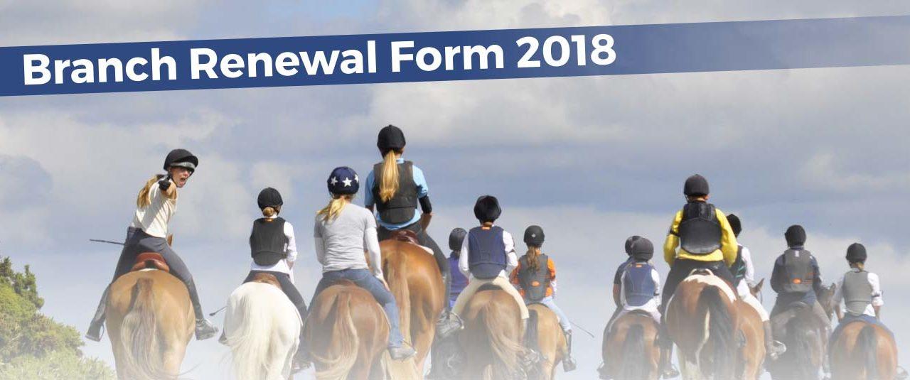 Annual Pony Club Renewal
