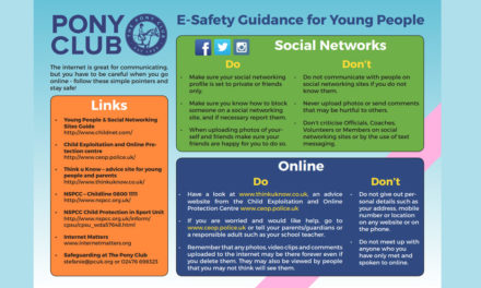 E-Safety Guidance for Young People